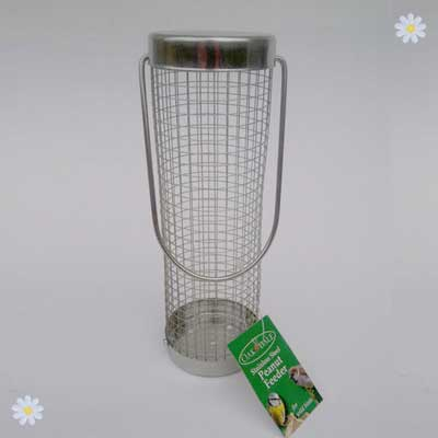 Image of Stainless Steel Peanut Bird Feeder