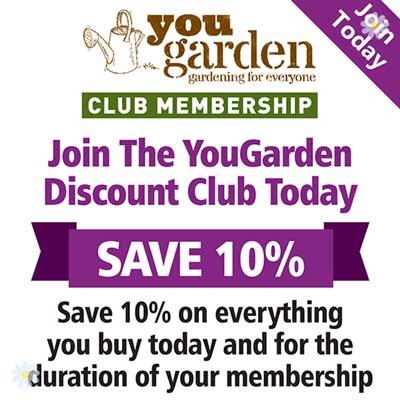 YG Discount Club Annual Membership YouGarden