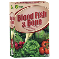 Blood, Fish &amp; Bone Organic Fertiliser x 1.25Kg pack