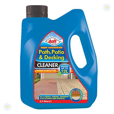 Super Concentrate path, Decking & Patio Cleaner 2.5L YouGarden